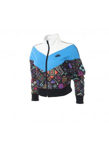 Nike W HYPR FLR TRCK Jacket PK AOP