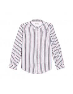 Pengüin Camisa LS Mid Stripe