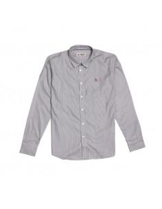 Pengüin Camisa LS Thin Stripes