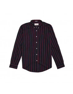 Pengüin Camisa Two Tone Stripe