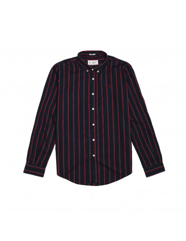 Pengüin Camisa Two Tone Stripe