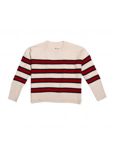 Levis Sweater Rayna Crewneck Stripe