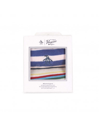 Penguin Socks Pack X 2 - Stripe Sock